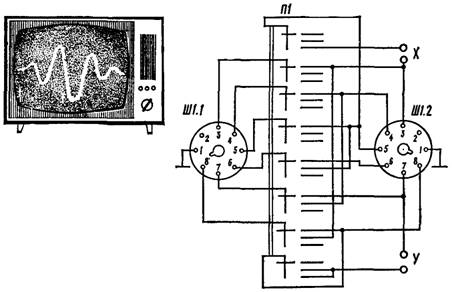 Электрическая схема приставки-
